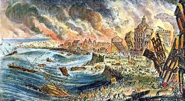 Geografía Pregunta Trivia: ¿Qué terremoto de gran intensidad se produjo en la Península Ibérica en el siglo XVIII?