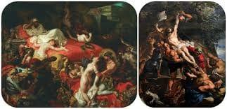 """Cultura Pregunta Trivia: ¿Quién es el autor del cuadro """"La muerte de Sardanápalo""""?"""