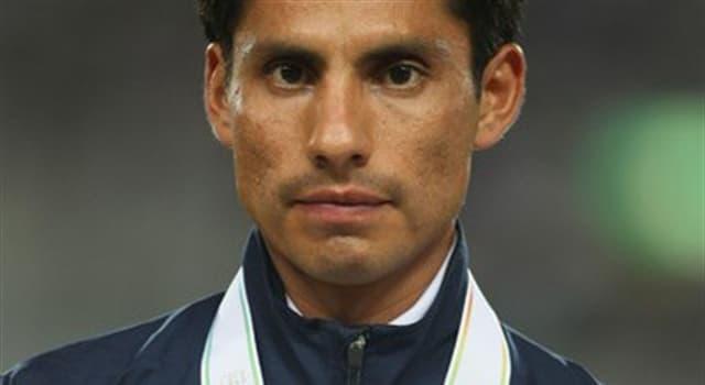 Deporte Pregunta Trivia: ¿Quién es el deportista que aparece en la fotografía?