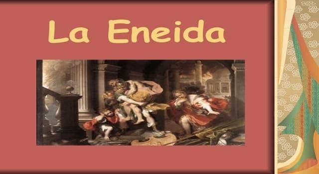 Cultura Pregunta Trivia: ¿Quién escribió La Eneida?
