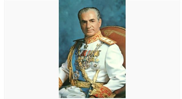 Historia Pregunta Trivia: ¿Quién fue el último Sah (o Shah) de Irán?