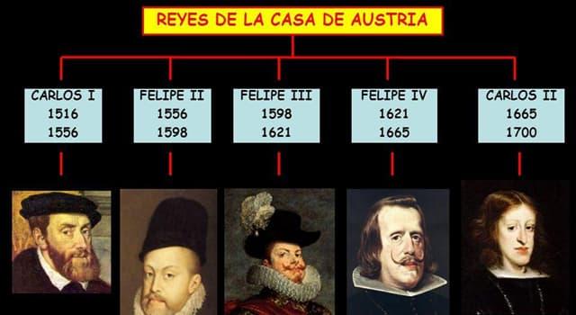 Historia Pregunta Trivia: ¿Quién sucedió a la Casa de Austria en el gobierno de España?