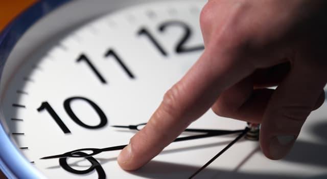 Наука Запитання-цікавинка: Скільки секунд в одному годині?