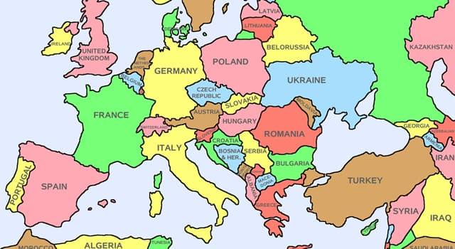 Gesellschaft Wissensfrage: Die Nationalflagge von welchem dieser europäischen Länder hat keine horizontalen Streifen?