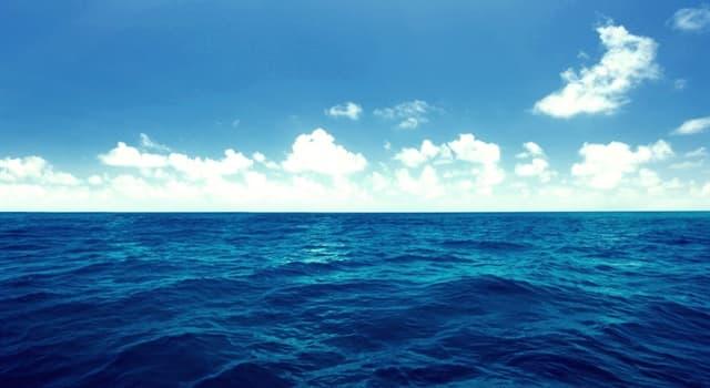 Geografia Pytanie-Ciekawostka: Które morze nie styka się z lądem?