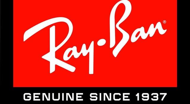 """społeczeństwo Pytanie-Ciekawostka: Co produkuje marka """"Ray-Ban""""?"""