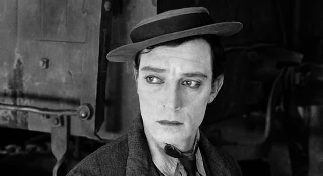 Gesellschaft Wissensfrage: Wie lautete der Vorname von Buster Keaton?