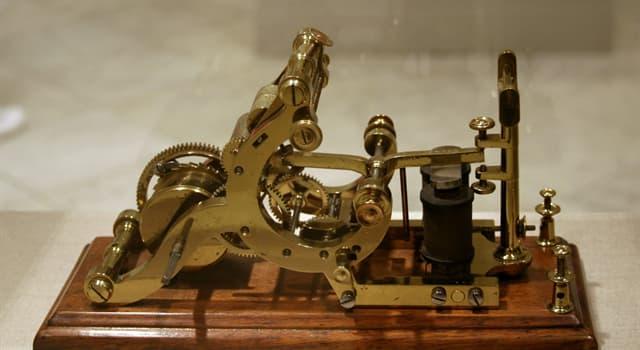 historia Pytanie-Ciekawostka: Kto wysłał pierwszą wiadomość telegraficzną?