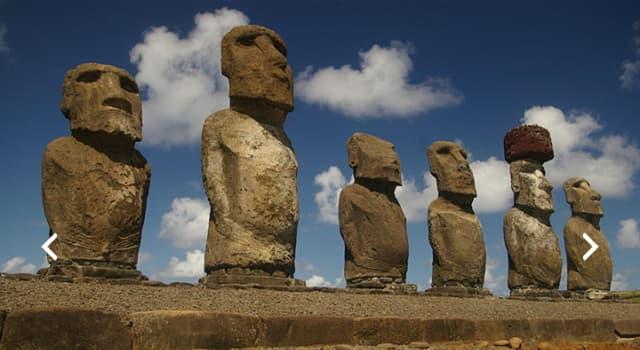 Geografía Pregunta Trivia: ¿A qué país debo viajar, si quiero conocer los Moáis?