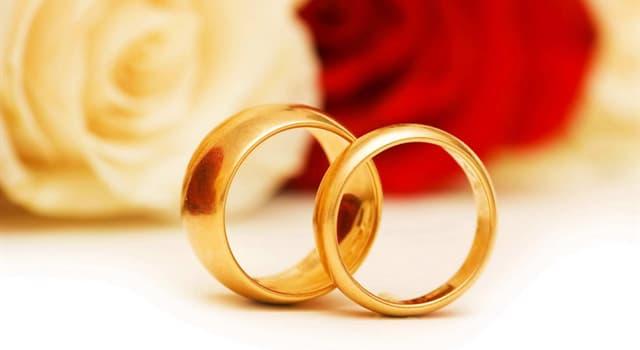 Культура Запитання-цікавинка: Через скільки років сімейного життя прийнято відзначати золоте весілля?