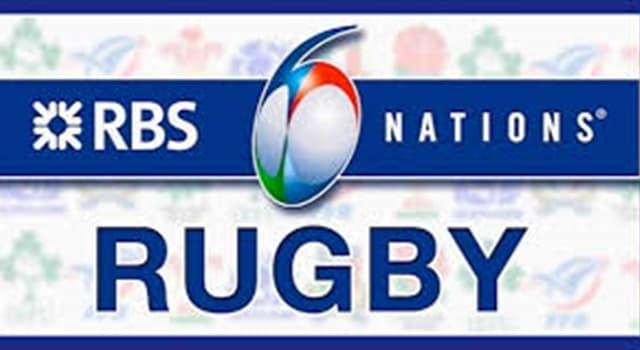 """Deporte Pregunta Trivia: ¿Cuál de los siguientes países no participa del torneo de rugby """"de las seis naciones""""  (Six Nations Championship)?"""