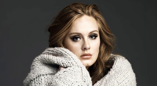 Sociedad Pregunta Trivia: ¿Cuál es el nombre del álbum de Adele con el que ganó un Brit Award?