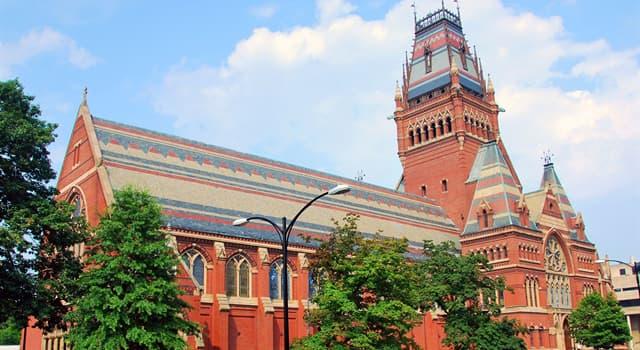 Geografia Pytanie-Ciekawostka: W jakim stanie USA jest Harvard University?