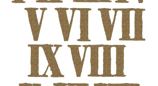 Gesellschaft Wissensfrage: Wie wird 100 in der Römischen Zahlschrift dargestellt?
