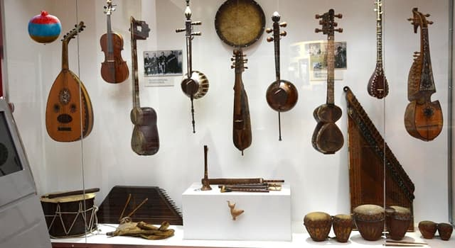 Culture Trivia Question: Which kind of a musical instrument is a lute?