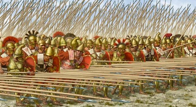 Історія Запитання-цікавинка: Як називається знамените і часто використовувалося бойове побудова в античній Греції?