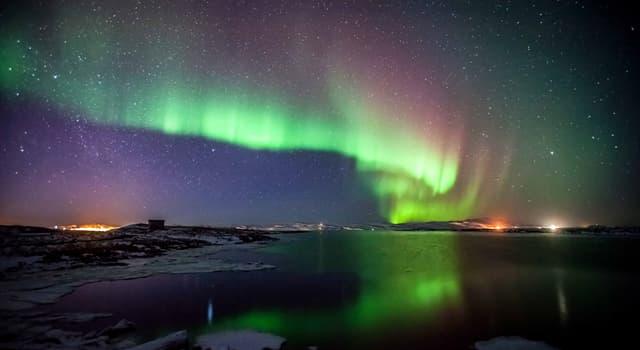 Наука Запитання-цікавинка: Як по-іншому називають північне сяйво?