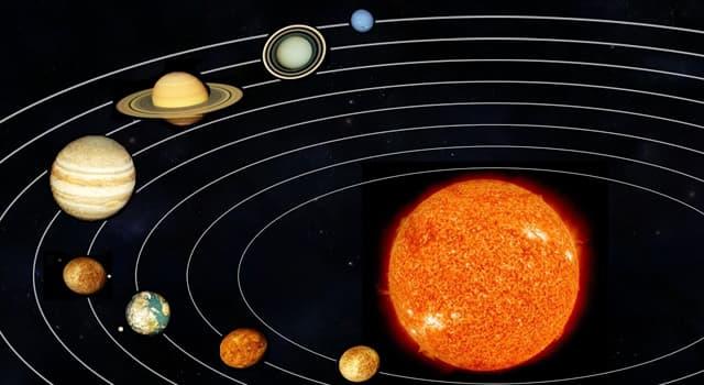 nauka Pytanie-Ciekawostka: Która planeta potrzebuje najmniej czasu, by okrążyć Słońce?