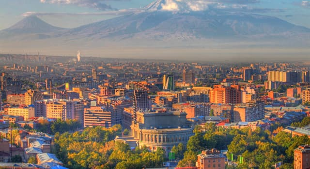 Geographie Wissensfrage: Wie heißt die Hauptstadt Armeniens?