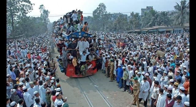 Geografia Pytanie-Ciekawostka: Co jest stolicą Bangladeszu?