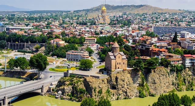 Географія Запитання-цікавинка: Яке місто є столицею Грузії?