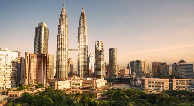 Географія Запитання-цікавинка: Яке місто є столицею Малайзії?