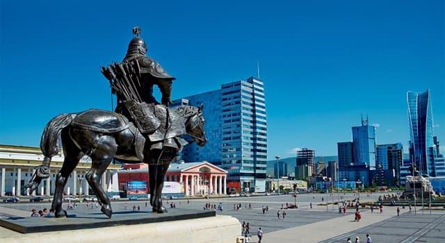 Geographie Wissensfrage: Was ist die Hauptstadt von der Mongolei?