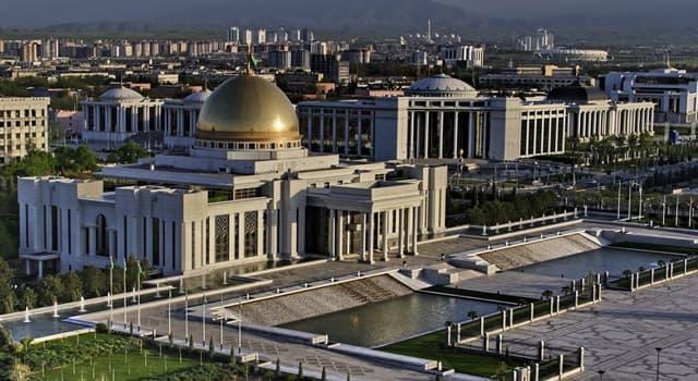 Географія Запитання-цікавинка: Яке місто є столицею Туркменії?