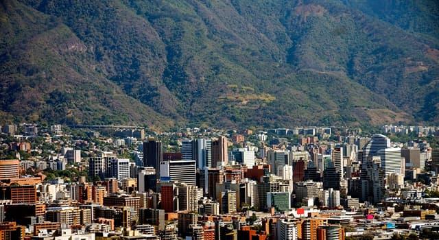Географія Запитання-цікавинка: Яке місто є столицею Венесуели?