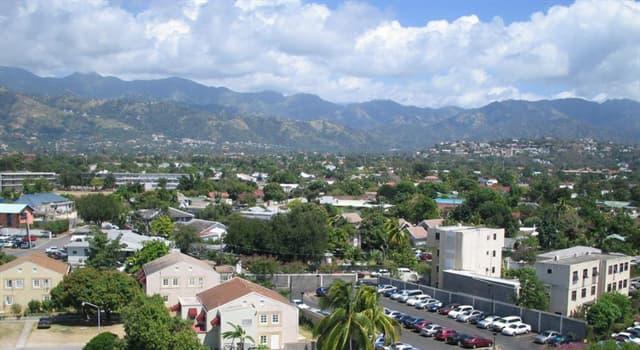 Geografia Pytanie-Ciekawostka: Co jest stolicą Jamajki?