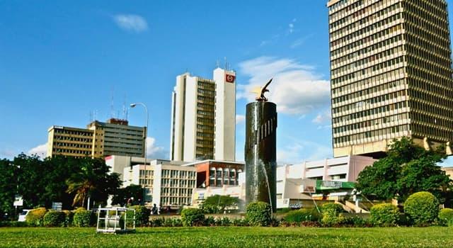 Географія Запитання-цікавинка: Яке місто є столицею Замбії?