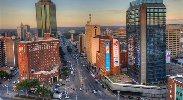 Geographie Wissensfrage: Was ist die Hauptstadt von Simbabwe?