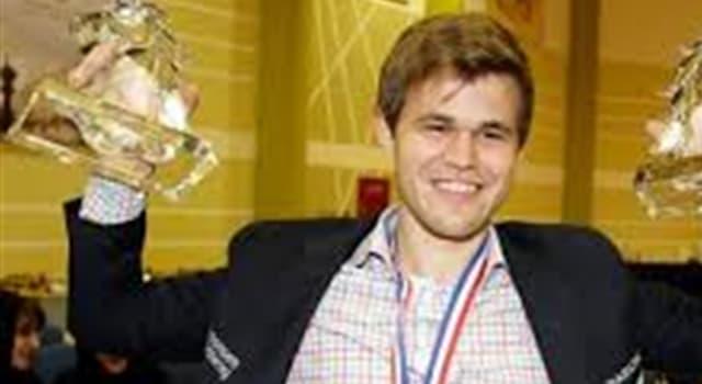 Deporte Pregunta Trivia: ¿Quién es el campeón mundial de ajedrez desde 2013?