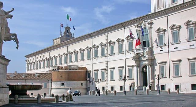 historia Pytanie-Ciekawostka: Dla którego papieża został pierwotnie zbudowany Pałac Kwirynalski?