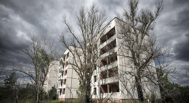 Історія Запитання-цікавинка: В якому році сталася аварія на Чорнобильській АЕС?