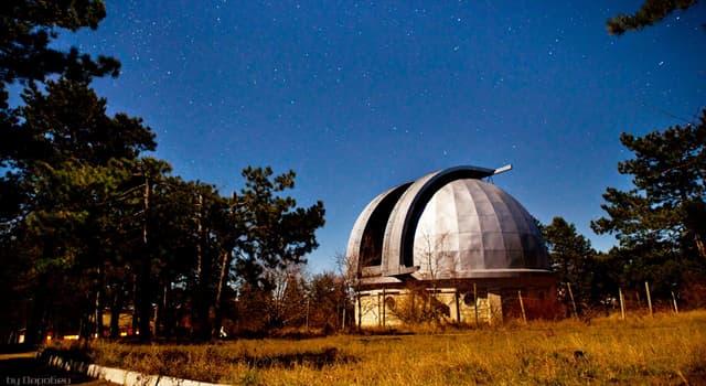 Наука Запитання-цікавинка: В якому місті з'явилася перша в світі обсерваторія в сучасному розумінні цього слова?