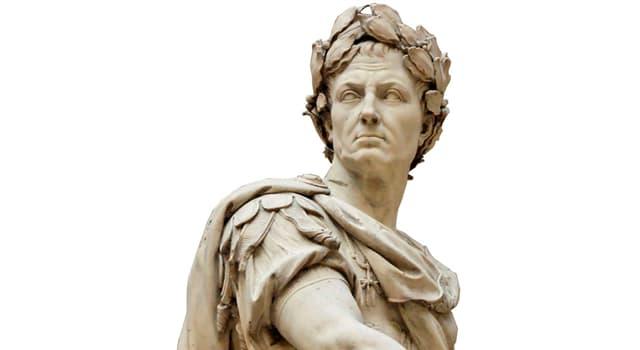 Історія Запитання-цікавинка: У скількох шлюбах складався Гай Юлій Цезар?
