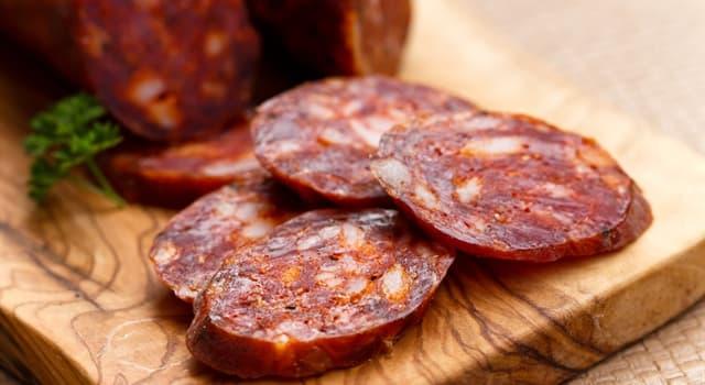 Kultur Wissensfrage: Woher stammt die Rohwurst vom Schwein Chorizo?