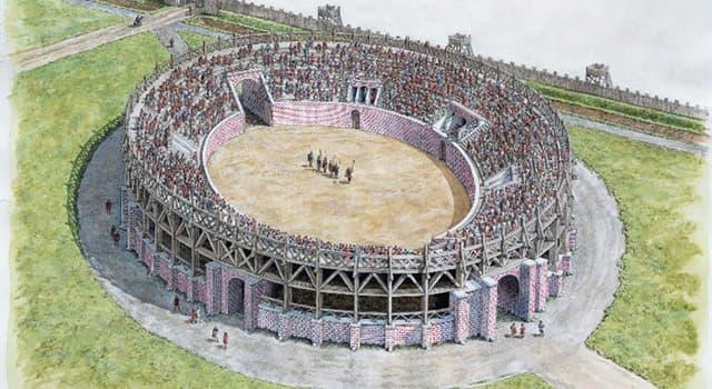 Geschichte Wissensfrage: Was ist das größte der im antiken Rom erbauten Amphitheater?