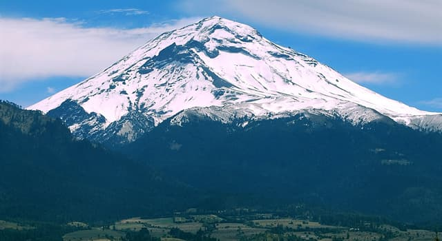 Geographie Wissensfrage: Wo liegt der Vulkan Popocatépetl?