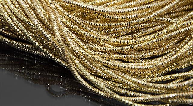 Суспільство Запитання-цікавинка: Як називається тонка металева (зазвичай золота або срібна) нитка, вживана для вишивання?