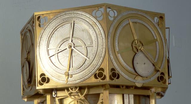Наука Запитання-цікавинка: Як називаються старовинні астрономічні годинник, створений в XIV столітті італійцем Джованні де Донді?