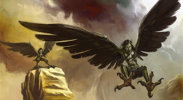 Культура Запитання-цікавинка: Як в давньогрецькій міфології називалися полуженщіни-полуптіци огидного виду?