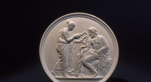 Культура Запитання-цікавинка: Як в давньогрецькій міфології звуть бога медицини та лікування?