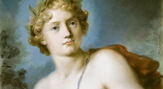 Культура Запитання-цікавинка: Як в давньогрецькій міфології звуть златокудрого бога світла, одного з найбільш шанованих богів?