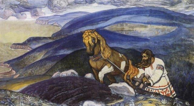 Культура Запитання-цікавинка: Як звуть легендарного орача-богатиря в російських билинах новгородського циклу?
