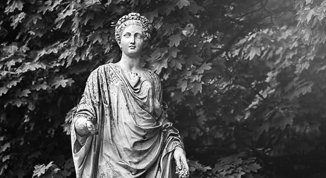 Культура Запитання-цікавинка: Як звуть в давньогрецькій міфології богиню родючості, покровительку землеробства?
