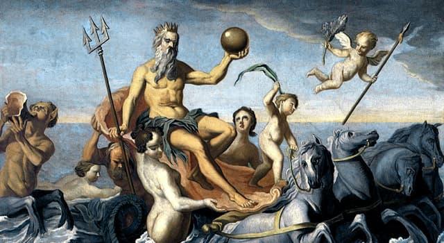 Культура Запитання-цікавинка: Як звуть в давньогрецькій міфології верховного морського бога?
