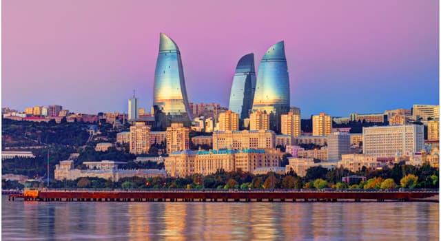 Географія Запитання-цікавинка: Яке місто є столицею Азербайджану?