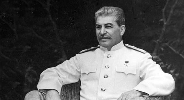 Історія Запитання-цікавинка: Ким за фахом був батько Сталіна Віссаріон Іванович Джугашвілі?